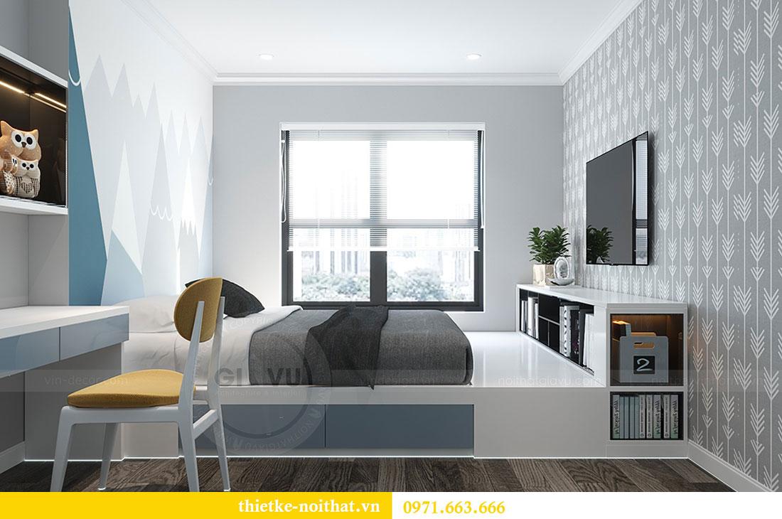 Thiết kế chung cư Vinhomes D Capitale căn 07 tòa C1 - Anh Khương 11
