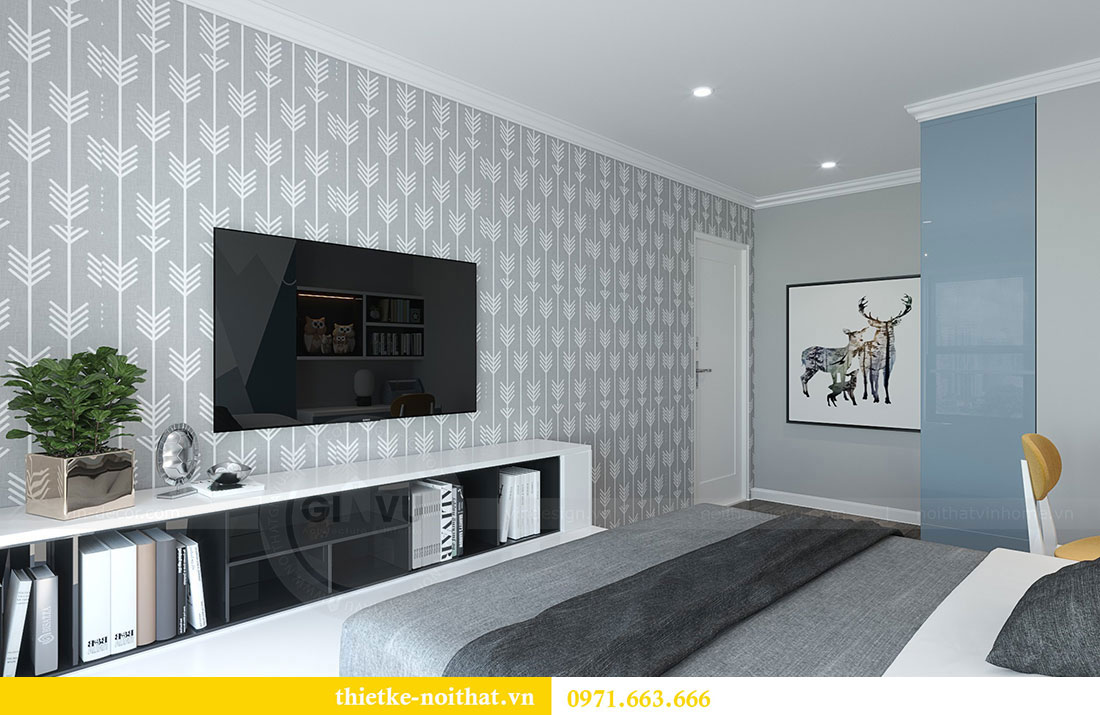 Thiết kế chung cư Vinhomes D Capitale căn 07 tòa C1 - Anh Khương 13