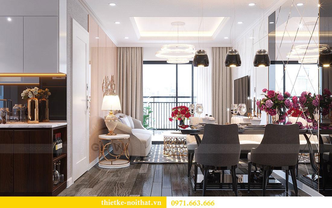Thiết kế chung cư Vinhomes D Capitale căn 07 tòa C1 - Anh Khương 4