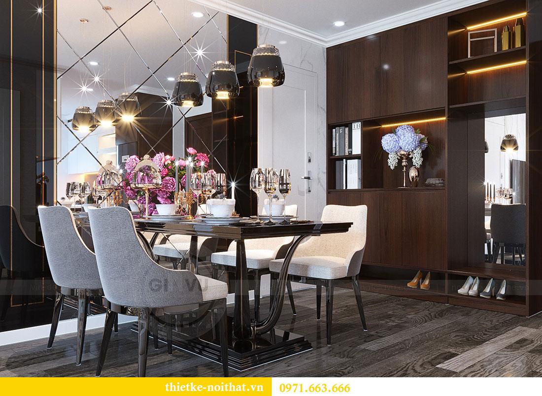 Thiết kế chung cư Vinhomes D Capitale căn 07 tòa C1 - Anh Khương 5