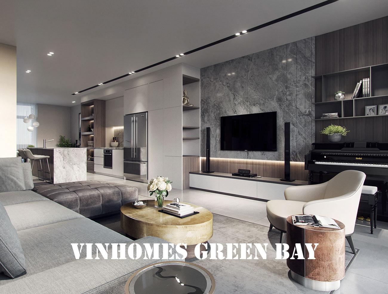 Thiết Kế Chung Cư Vinhomes Green Bay Mễ Trì – Call 0971663666