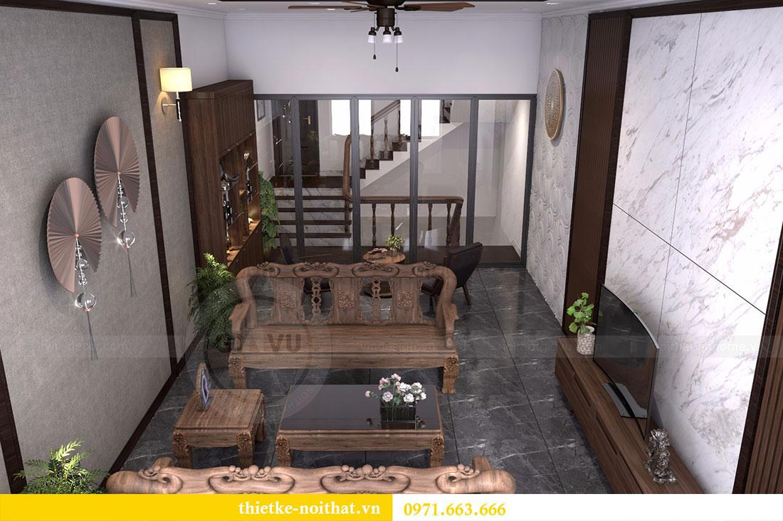 Thiết kế nội thất bằng gỗ óc chó