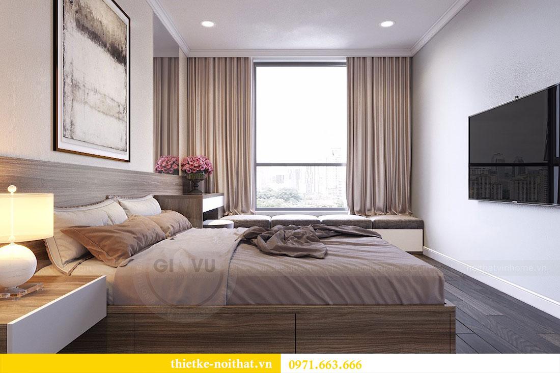 Thiết kế nội thất chung cư Seasons Avenue tòa S1 căn 04 - Chị Thanh 07