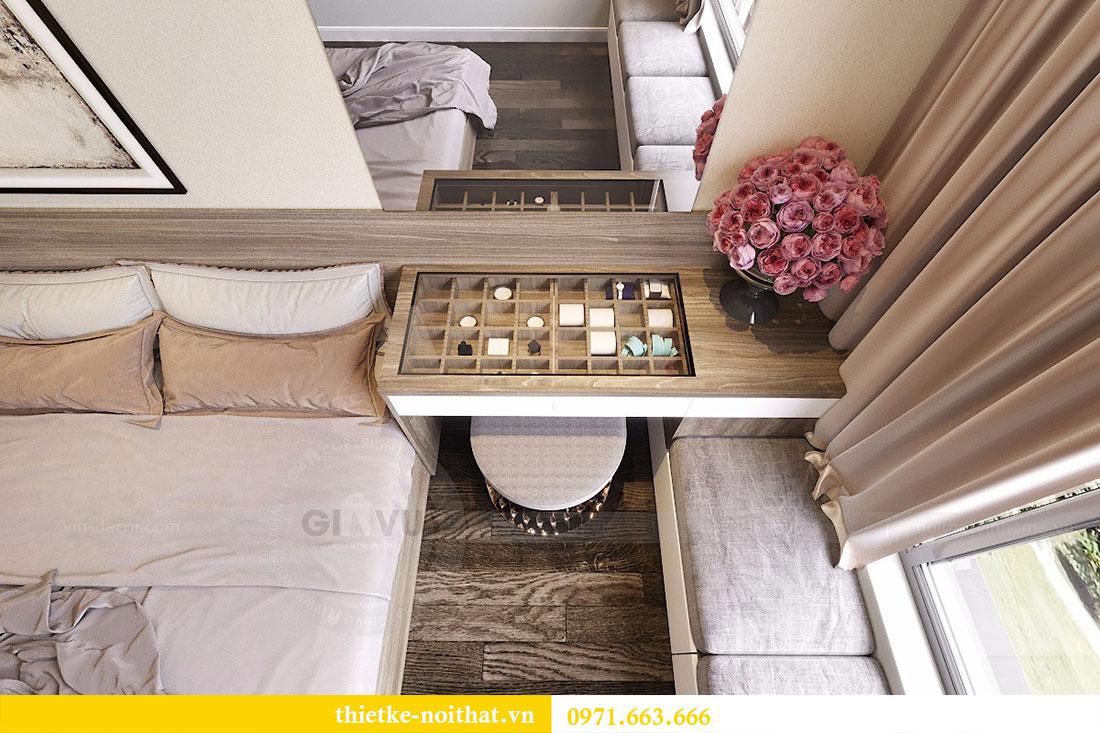 Thiết kế nội thất chung cư Seasons Avenue tòa S1 căn 04 - Chị Thanh 08