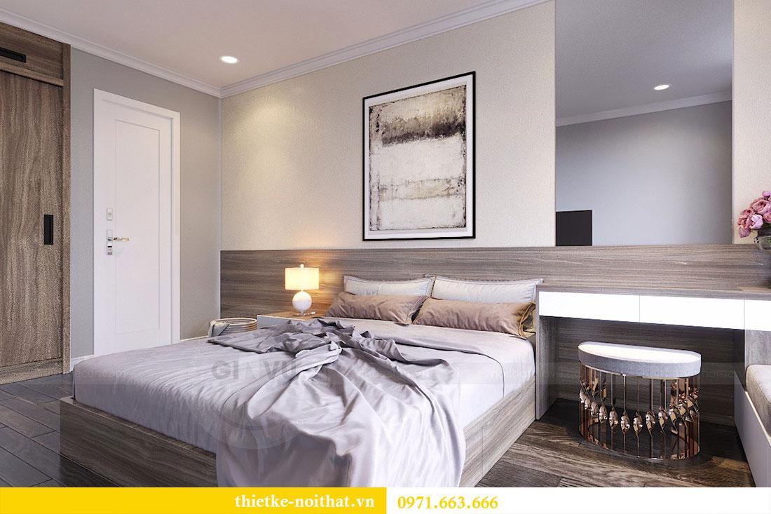 Thiết kế nội thất chung cư Seasons Avenue tòa S1 căn 04 - Chị Thanh 09