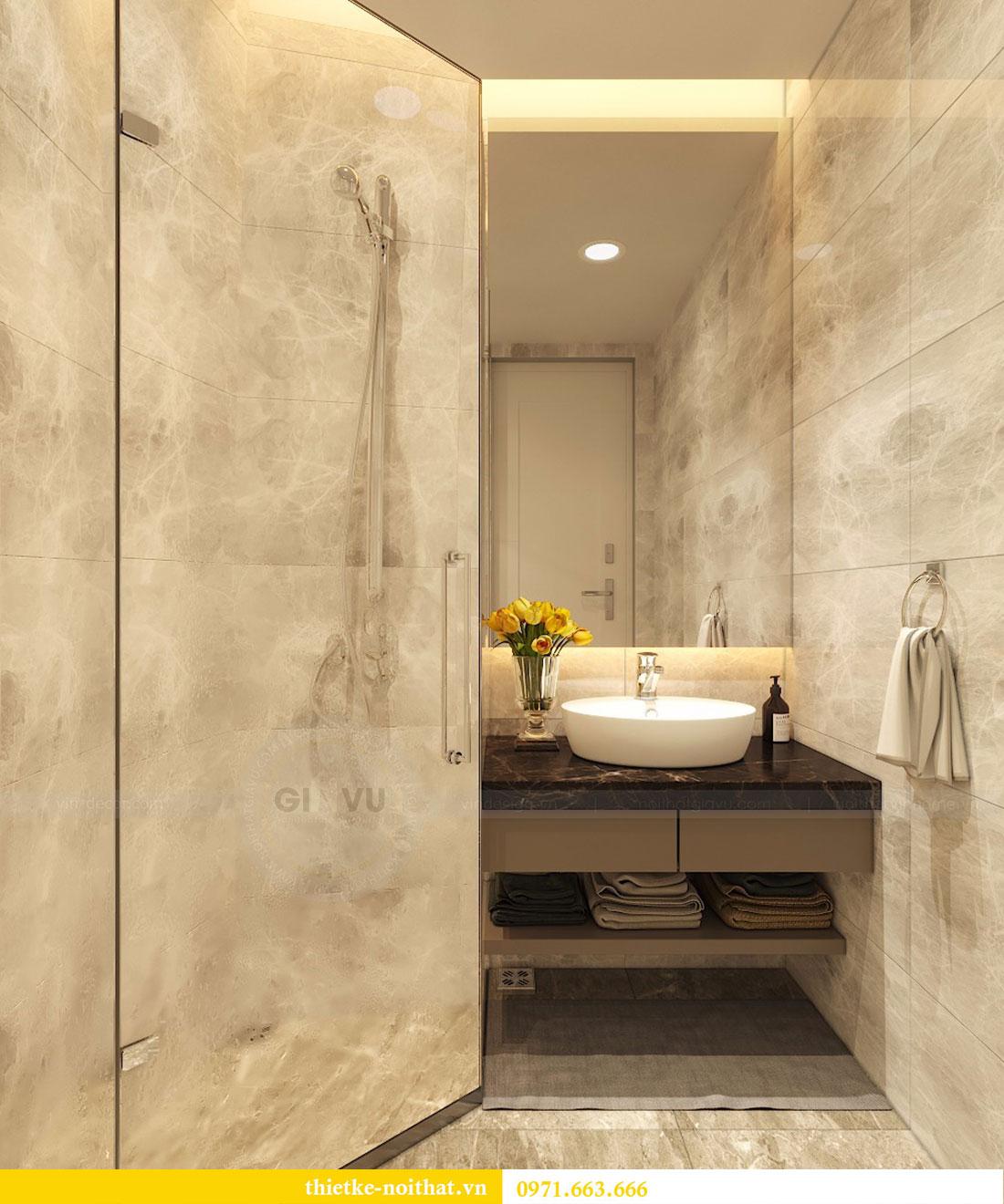 Thiết kế nội thất chung cư Seasons Avenue tòa S1 căn 04 - Chị Thanh 10.