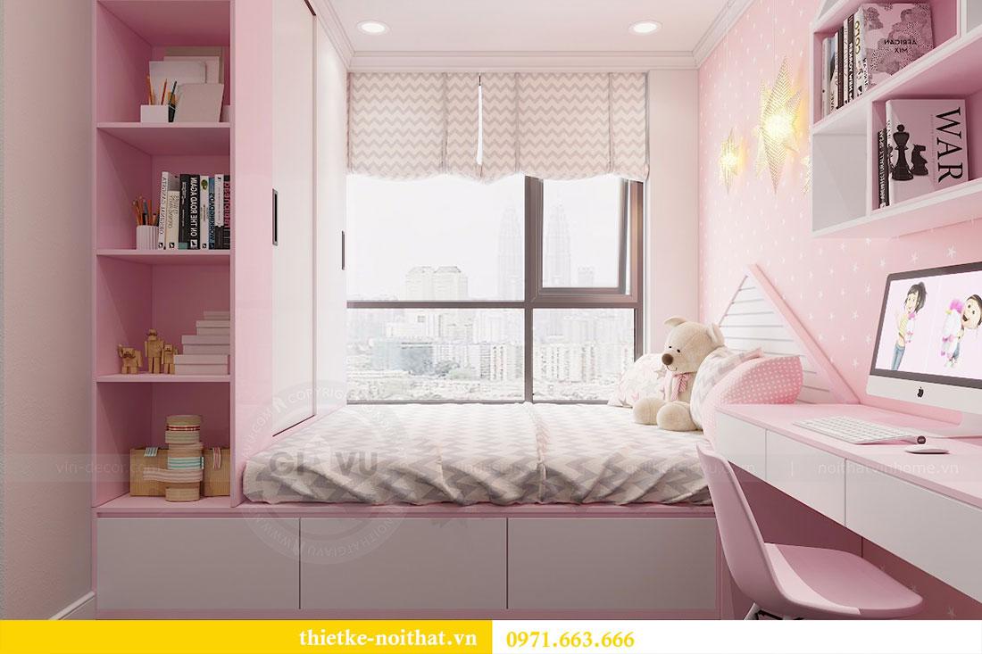 Thiết kế nội thất chung cư Seasons Avenue tòa S1 căn 04 - Chị Thanh 13.