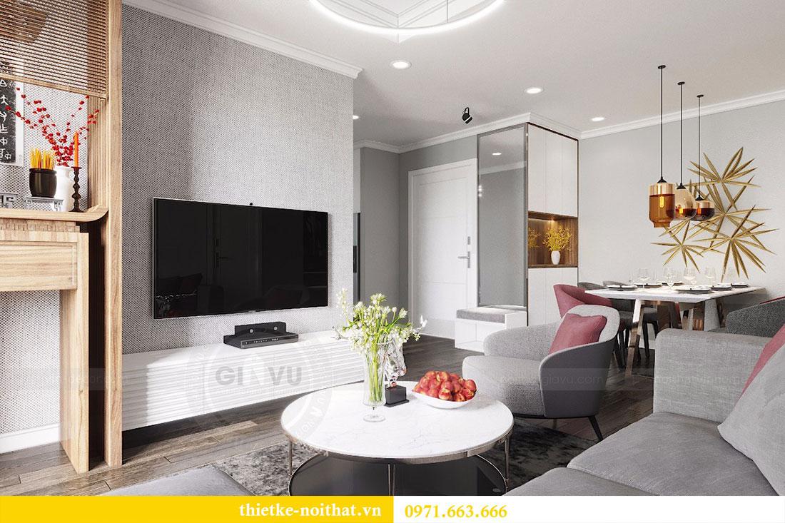 Thiết kế nội thất chung cư Seasons Avenue tòa S1 căn 04 - Chị Thanh 2
