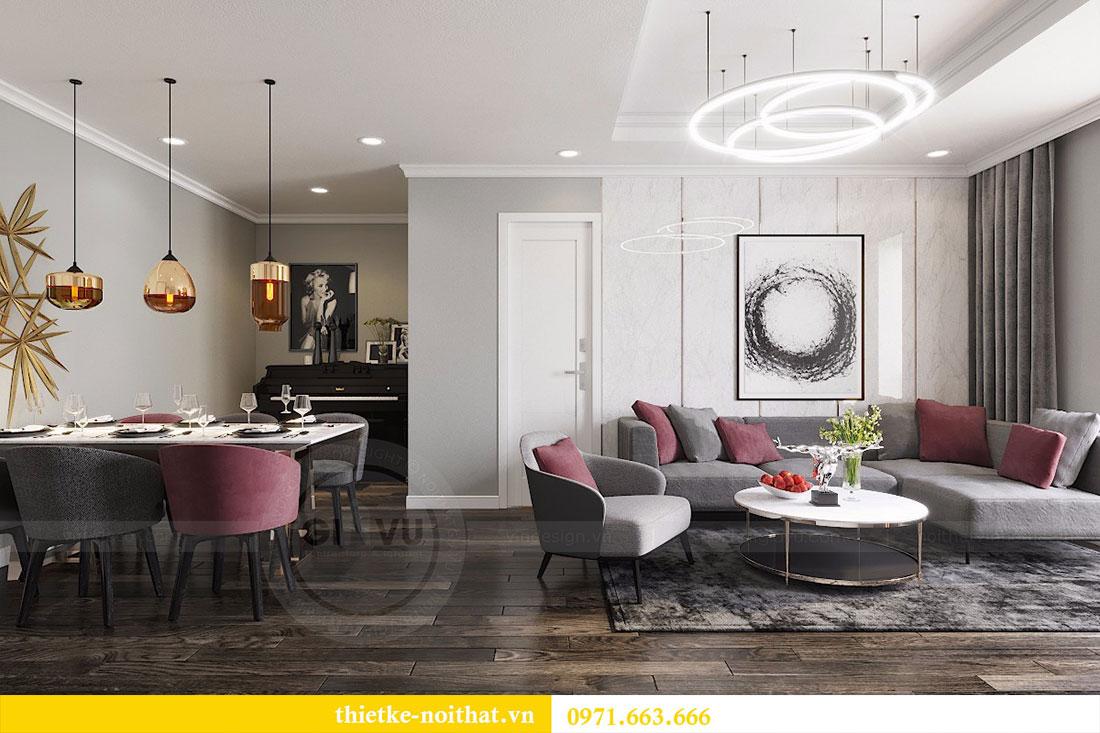 Thiết kế nội thất chung cư Seasons Avenue tòa S1 căn 04 - Chị Thanh 3