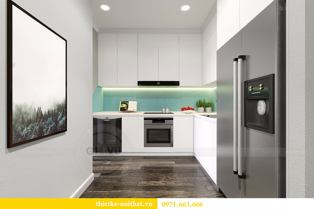 Thiết kế nội thất chung cư Seasons Avenue tòa S1 căn 04 - Chị Thanh 4