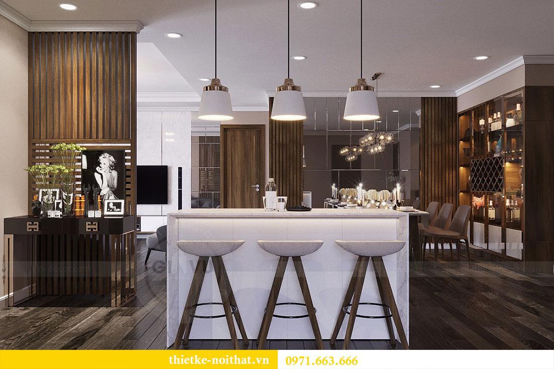 Thiết kế nội thất chung cư Vinhomes Đỗ Đức Dục - Liên hệ 0971663666 view 3
