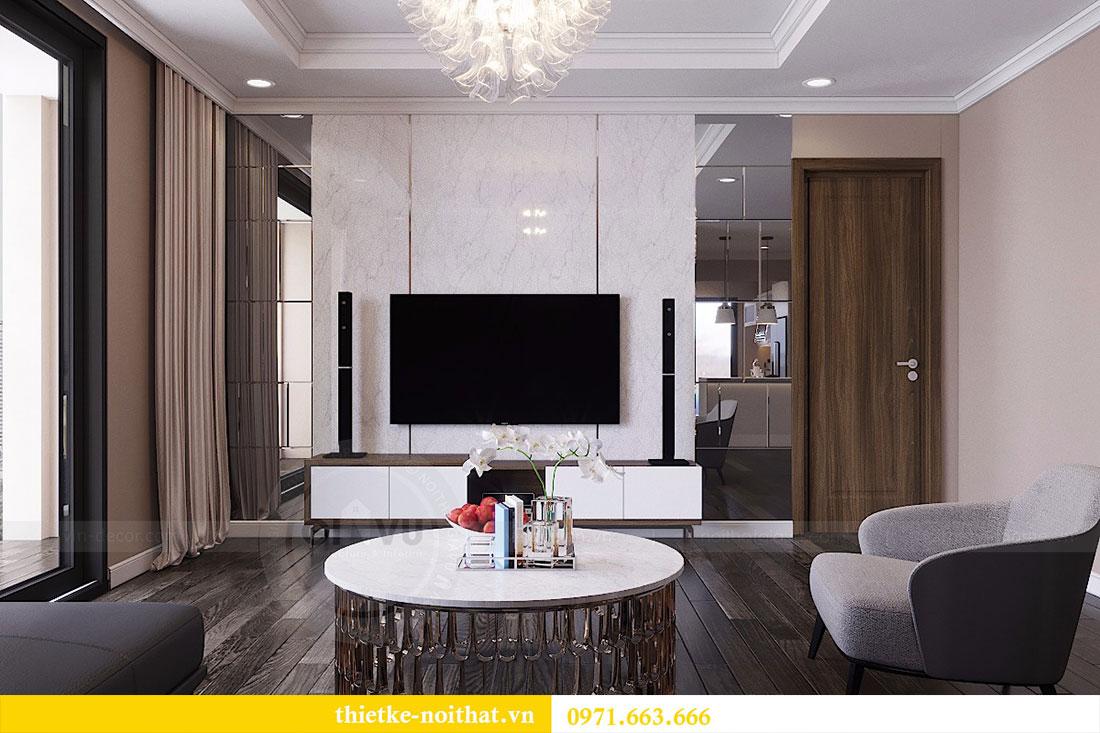 Thiết kế nội thất chung cư Vinhomes Đỗ Đức Dục - Liên hệ 0971663666 view 5