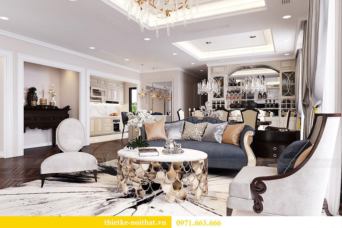 Thiết kế nội thất Vinhomes DCapitale tòa C6 gia đình chị Thanh 1