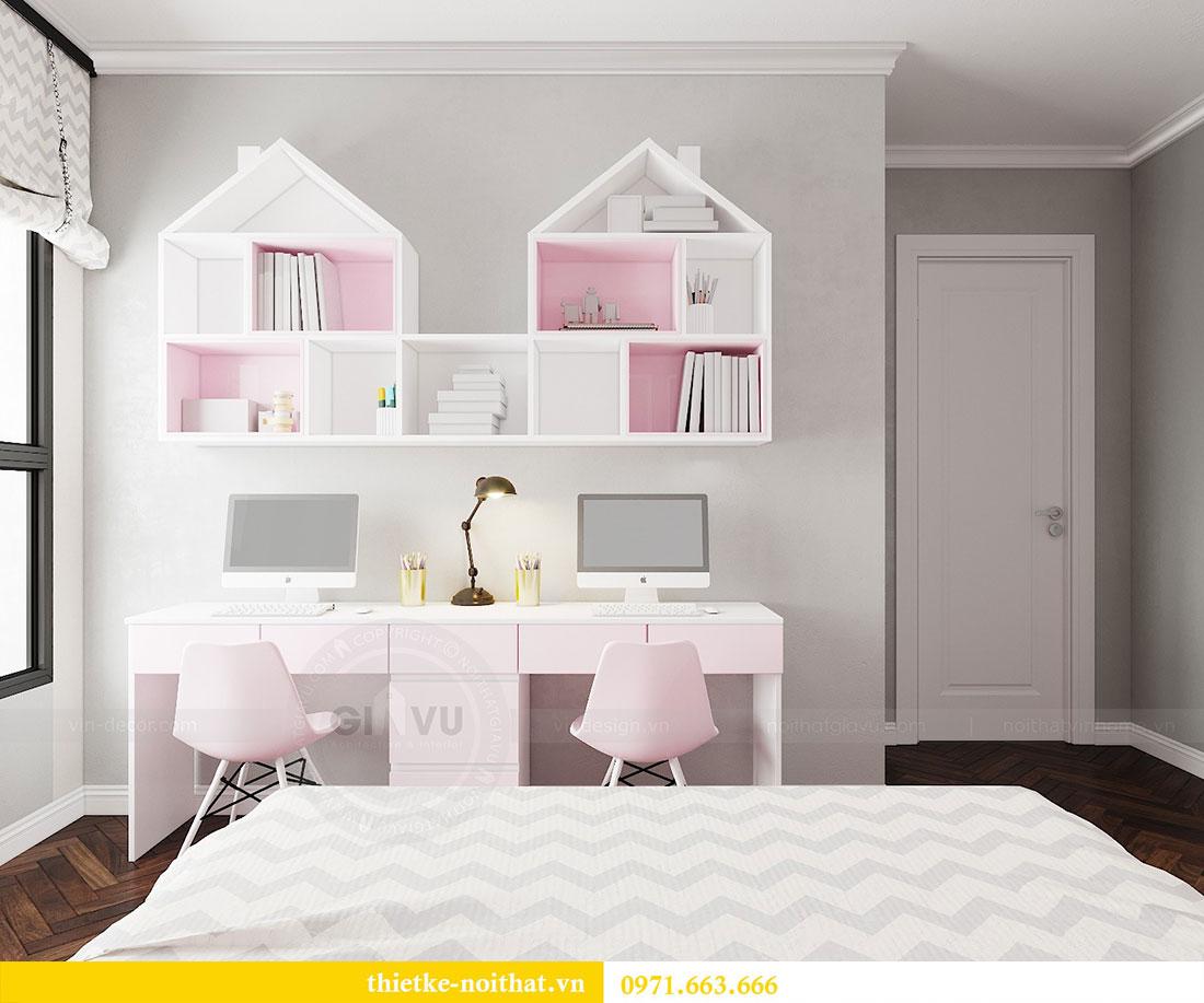 Thiết kế nội thất Vinhomes DCapitale tòa C6 gia đình chị Thanh 15