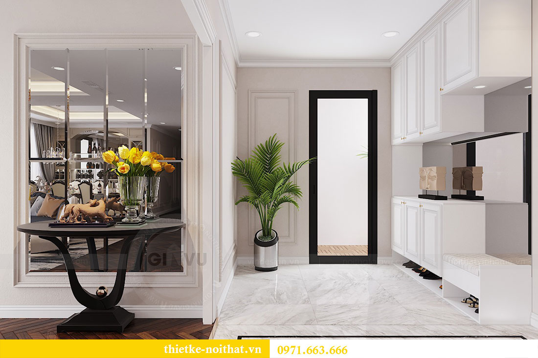Thiết kế nội thất Vinhomes DCapitale tòa C6 gia đình chị Thanh 5