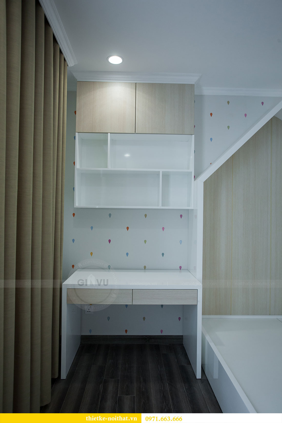 Hoàn thiện nội thất chung cư Seasons Avenue tòa S4 căn 06 chị My 19