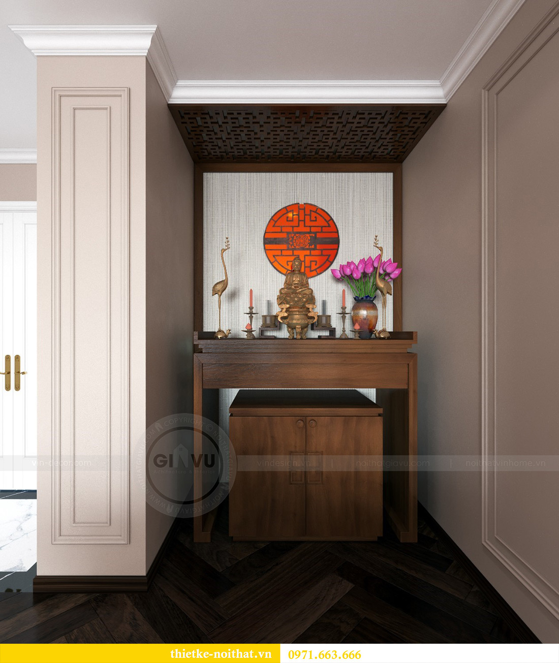 Thiết kế căn hộ chung cư Ancora Lương Yên căn 10 tòa T2 - Anh Chiến 6