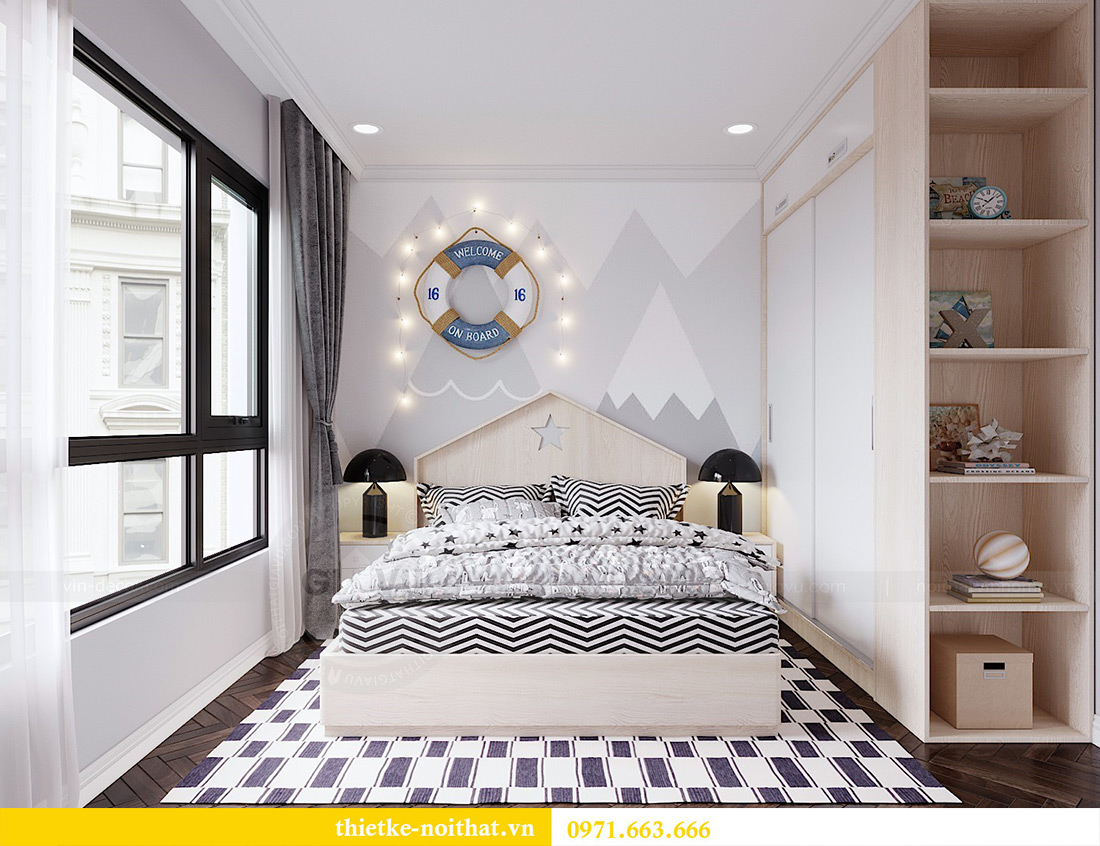 Thiết kế nội thất căn hộ chung cư dcapitale tòa C3 căn 06 - Chị Mai 11