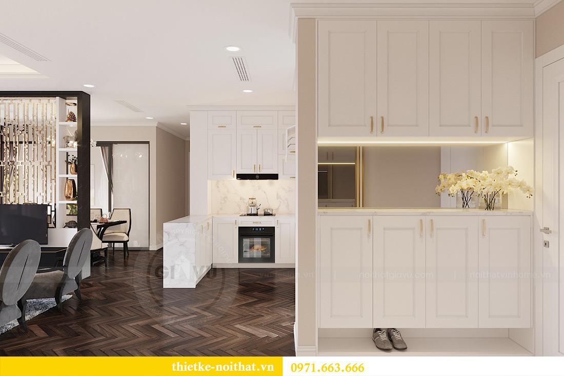 Thiết kế nội thất căn hộ chung cư dcapitale tòa C3 căn 06 - Chị Mai 2