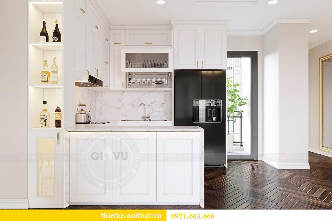 Thiết kế nội thất căn hộ chung cư dcapitale tòa C3 căn 06 - Chị Mai 3