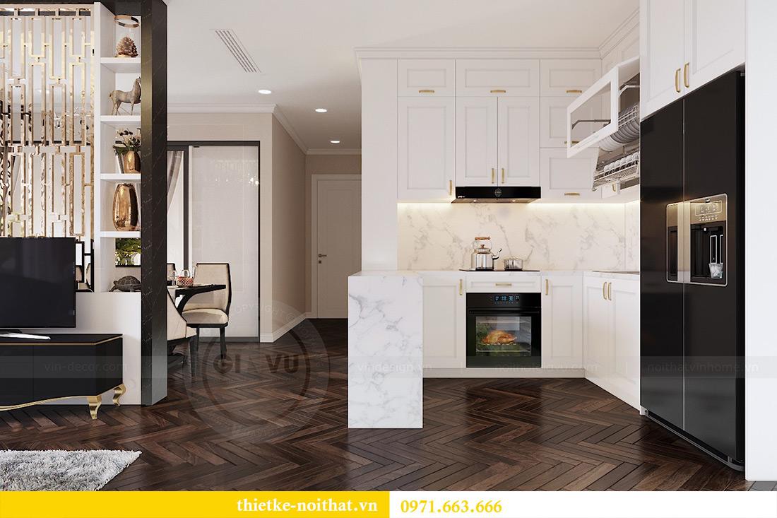 Thiết kế nội thất căn hộ chung cư dcapitale tòa C3 căn 06 - Chị Mai 4