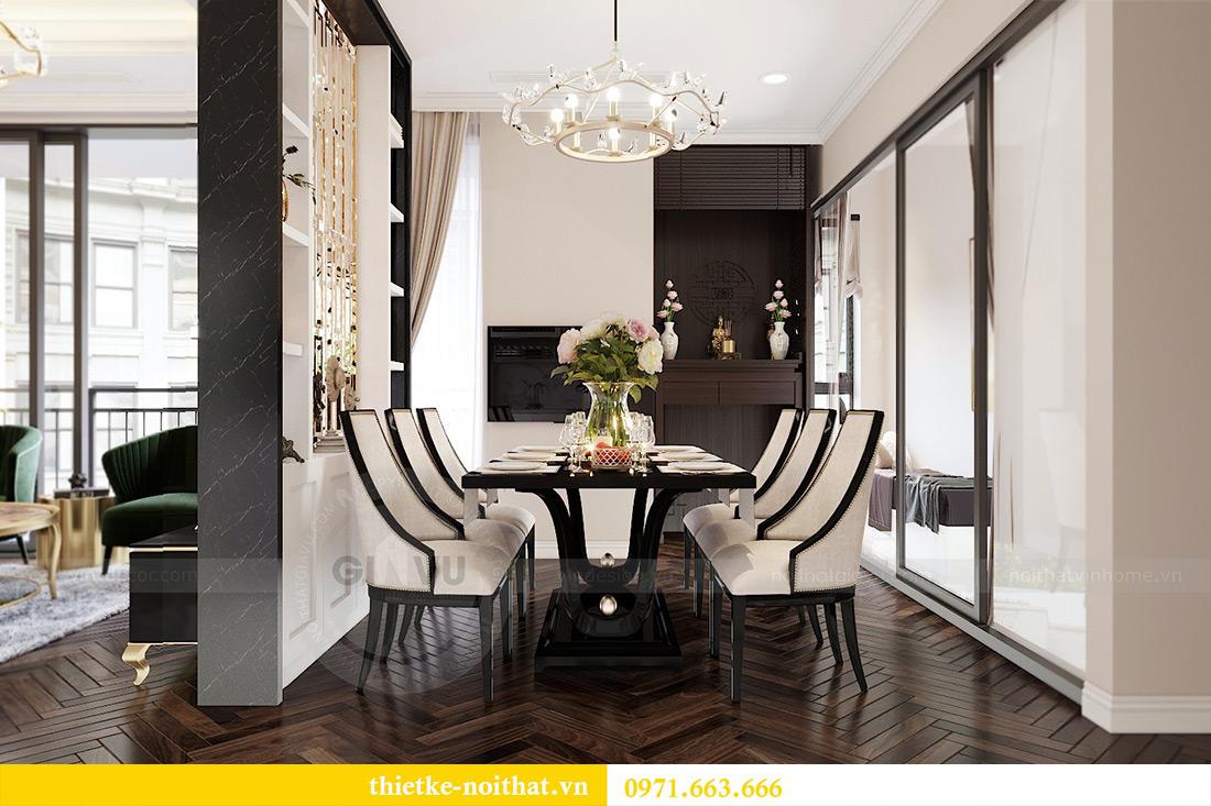 Thiết kế nội thất căn hộ chung cư dcapitale tòa C3 căn 06 - Chị Mai 5