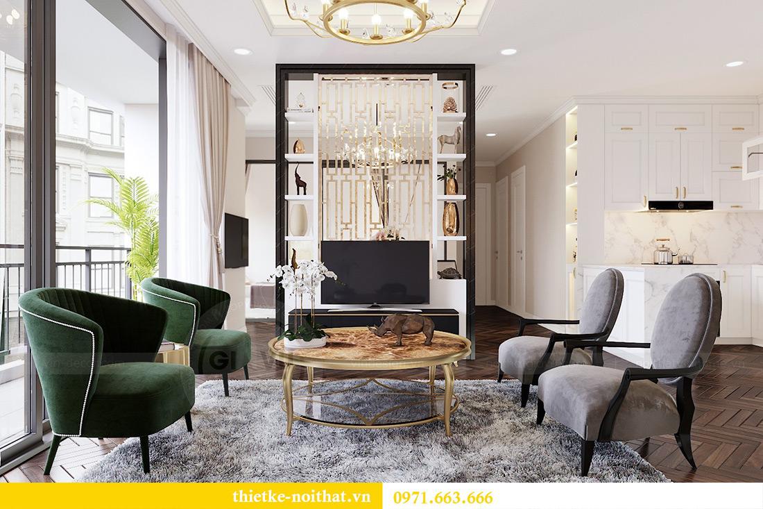 Thiết kế nội thất căn hộ chung cư dcapitale tòa C3 căn 06 - Chị Mai 7