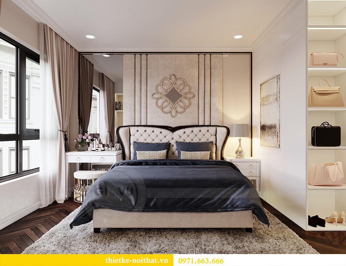 Thiết kế nội thất căn hộ chung cư dcapitale tòa C3 căn 06 - Chị Mai 9