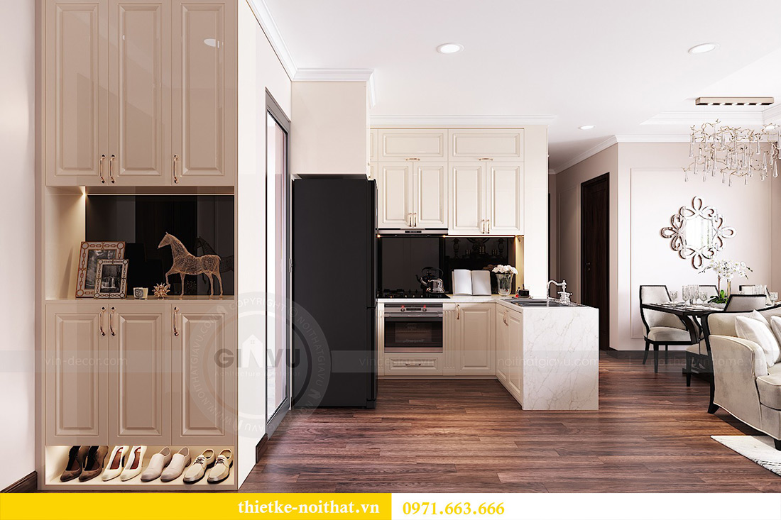 Thiết kế nội thất căn hộ Vinhomes Dcapitale căn 11 tòa C1 - Anh Khánh 1