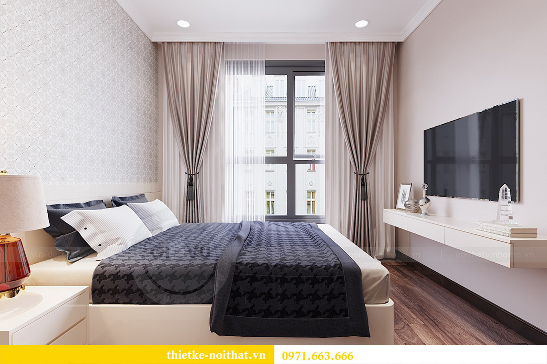 Thiết kế nội thất căn hộ Vinhomes Dcapitale căn 11 tòa C1 - Anh Khánh 12