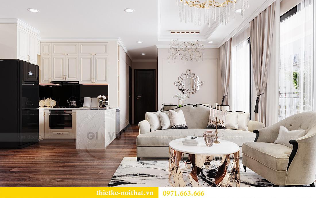 Thiết kế nội thất căn hộ Vinhomes Dcapitale căn 11 tòa C1 - Anh Khánh 2