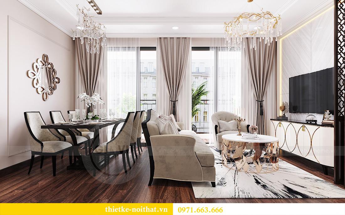 Thiết kế nội thất căn hộ Vinhomes Dcapitale căn 11 tòa C1 - Anh Khánh 3