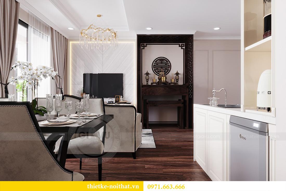 Thiết kế nội thất căn hộ Vinhomes Dcapitale căn 11 tòa C1 - Anh Khánh 5