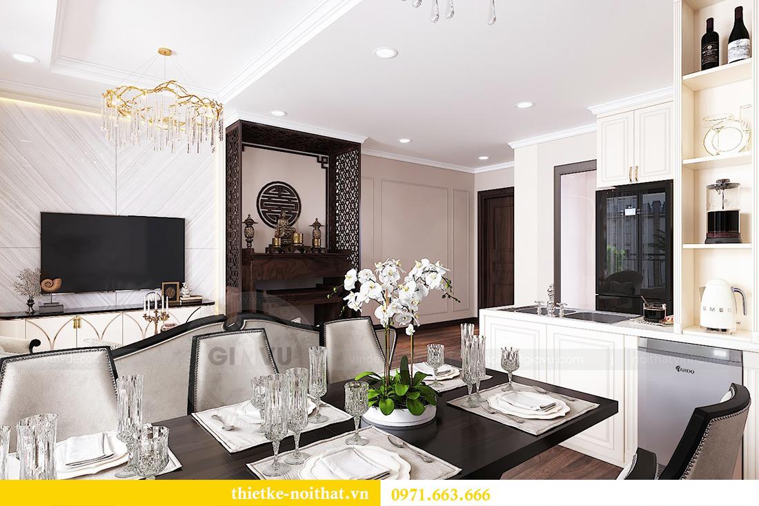 Thiết kế nội thất căn hộ Vinhomes Dcapitale căn 11 tòa C1 - Anh Khánh 6