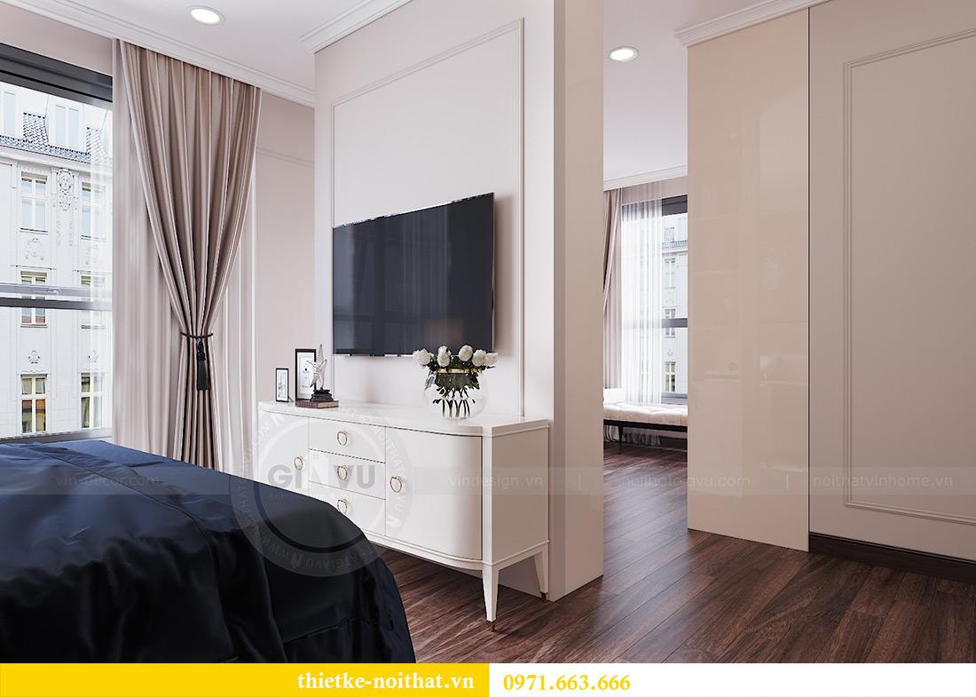 Thiết kế nội thất căn hộ Vinhomes Dcapitale căn 11 tòa C1 - Anh Khánh 8