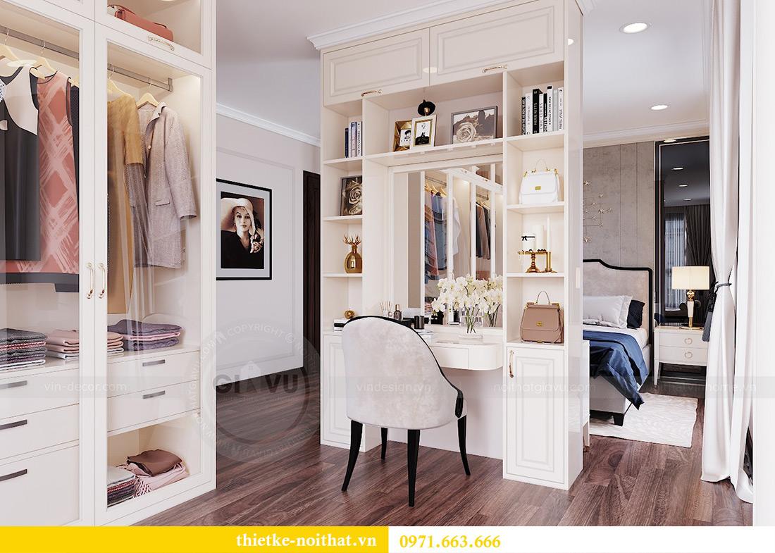 Thiết kế nội thất căn hộ Vinhomes Dcapitale căn 11 tòa C1 - Anh Khánh 9
