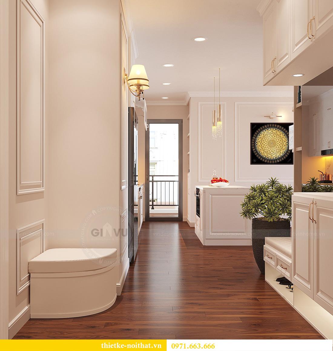 Thiết kế nội thất căn hộ Vinhomes Green Bay tinh tế sang trọng 1