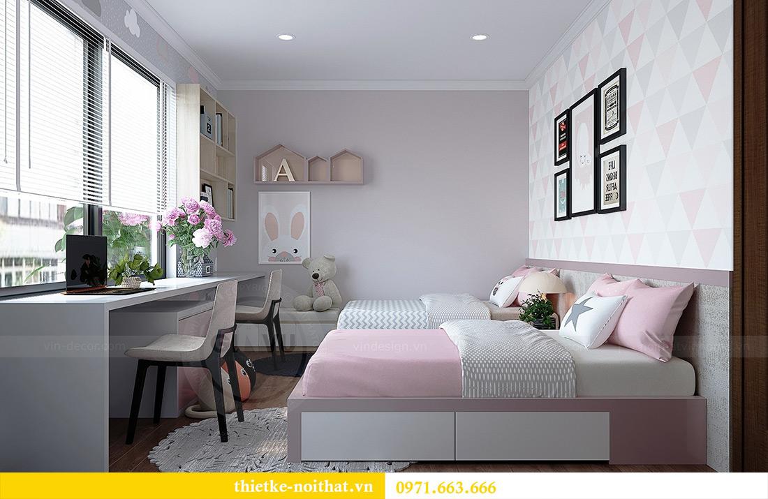 Thiết kế nội thất căn hộ Vinhomes Green Bay tinh tế sang trọng 11