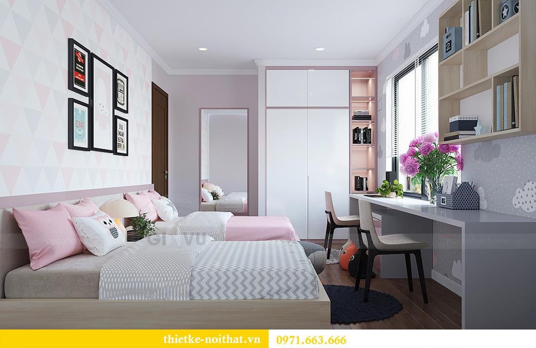 Thiết kế nội thất căn hộ Vinhomes Green Bay tinh tế sang trọng 12