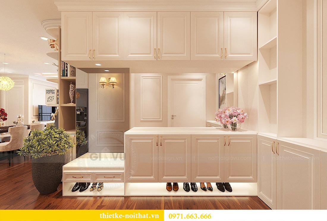 Thiết kế nội thất căn hộ Vinhomes Green Bay tinh tế sang trọng 2