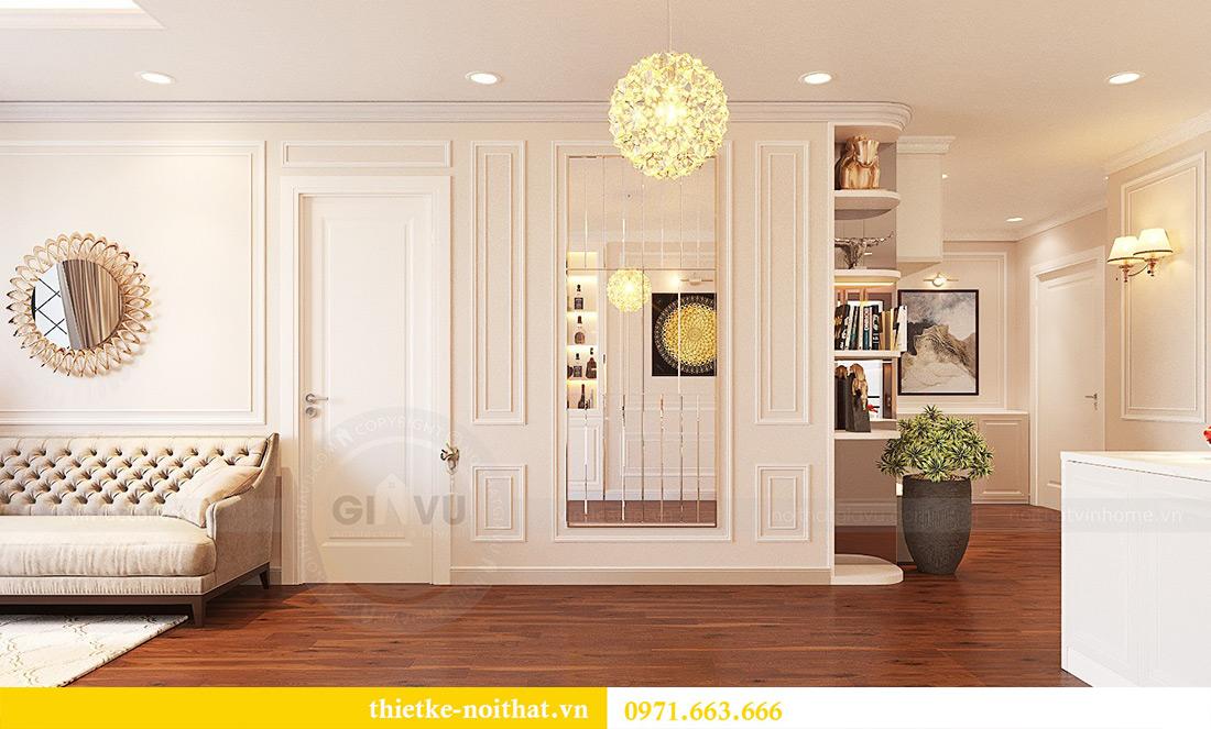 Thiết kế nội thất căn hộ Vinhomes Green Bay tinh tế sang trọng 6