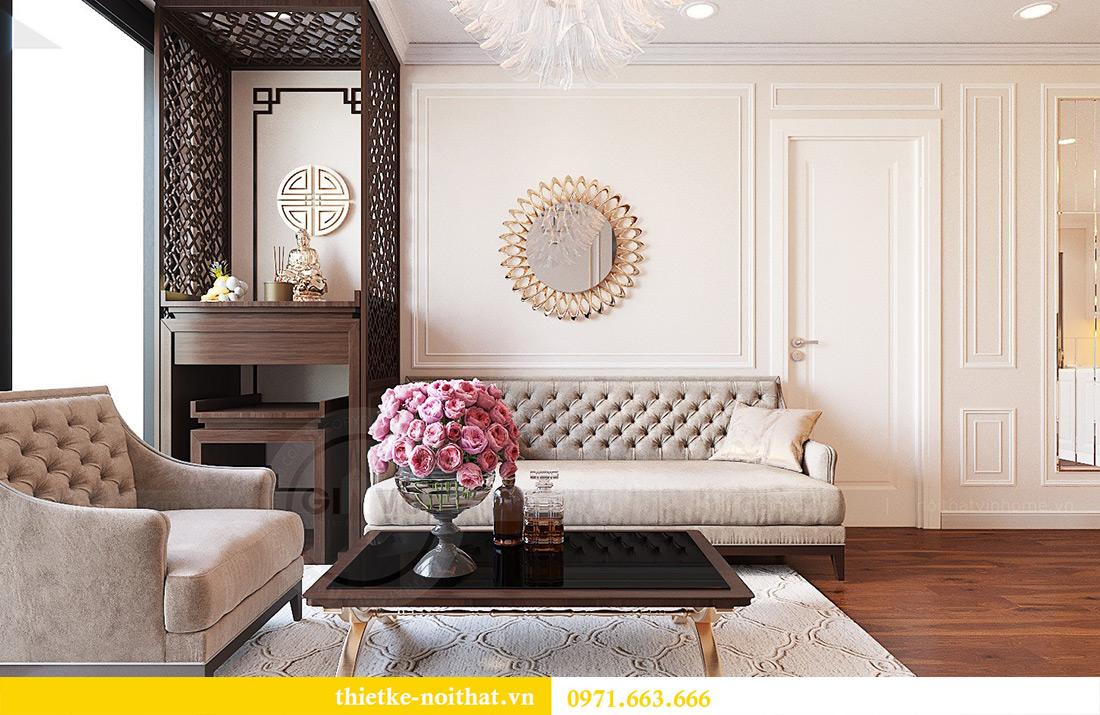Thiết kế nội thất căn hộ Vinhomes Green Bay tinh tế sang trọng 7