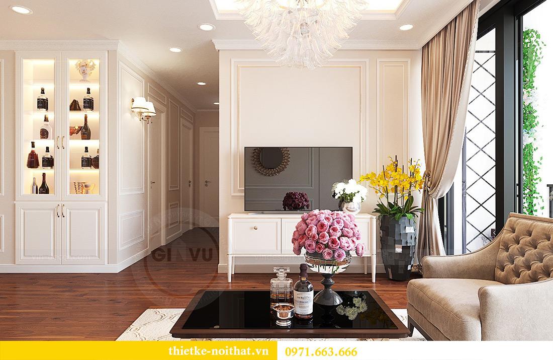Thiết kế nội thất căn hộ Vinhomes Green Bay tinh tế sang trọng 8