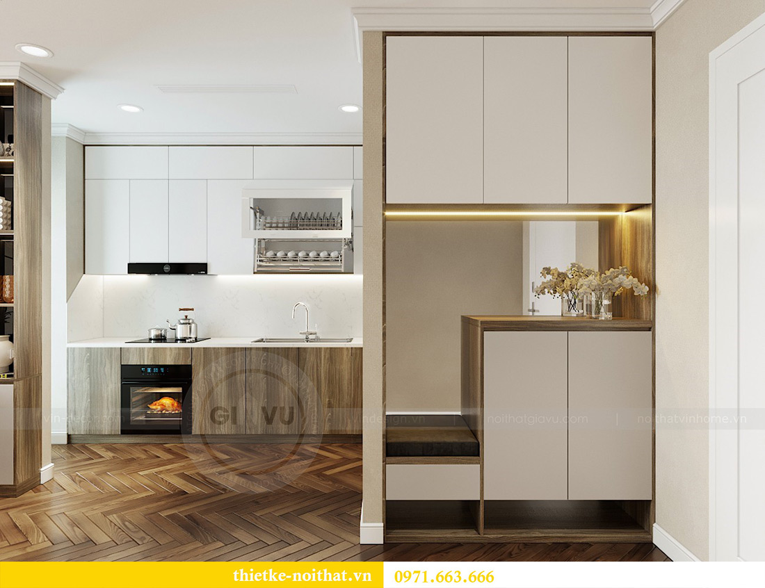 Thiết kế nội thất căn hộ Vinhomes Metropolis tòa M3 căn 07 - Anh Lĩnh 1