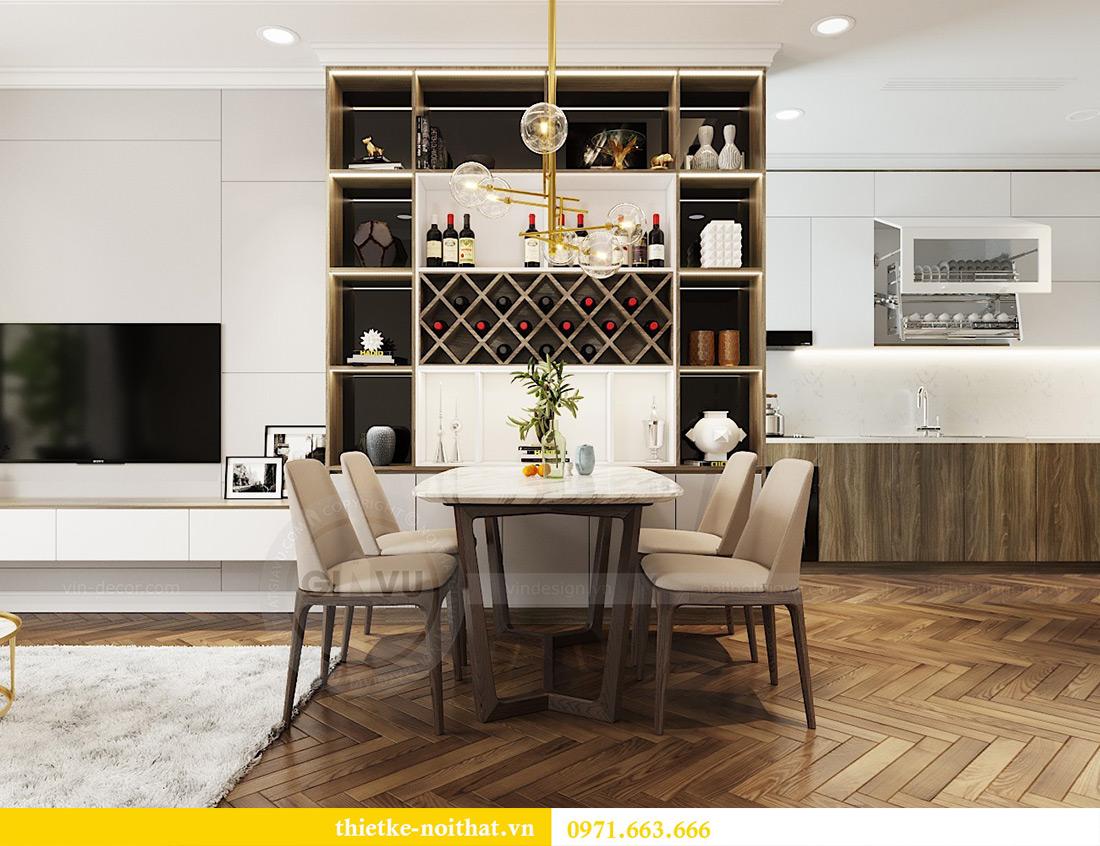Thiết kế nội thất căn hộ Vinhomes Metropolis tòa M3 căn 07 - Anh Lĩnh 3