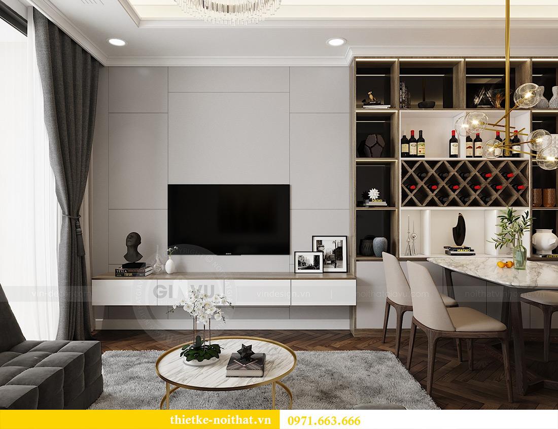 Thiết kế nội thất căn hộ Vinhomes Metropolis tòa M3 căn 07 - Anh Lĩnh 4