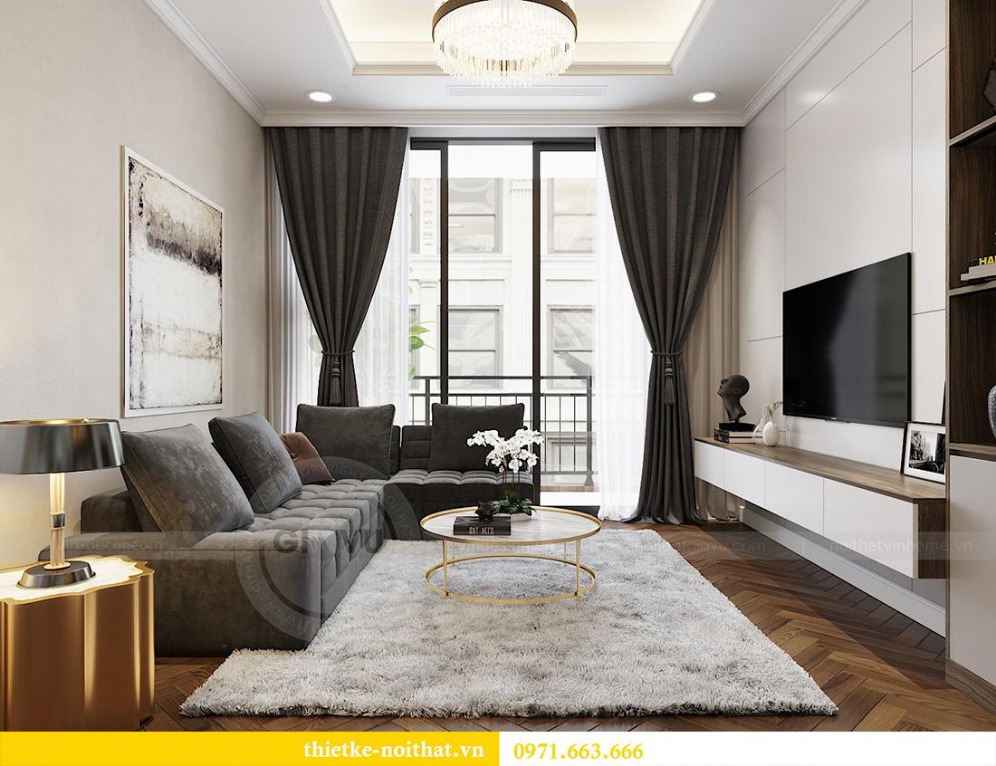 Thiết kế nội thất căn hộ Vinhomes Metropolis tòa M3 căn 07 - Anh Lĩnh 5