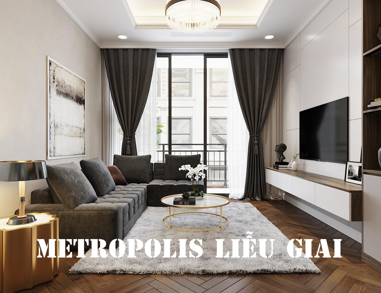 Thiết Kế Nội Thất Căn Hộ Vinhomes Metropolis Tòa M3 Căn 07 – Anh Lĩnh