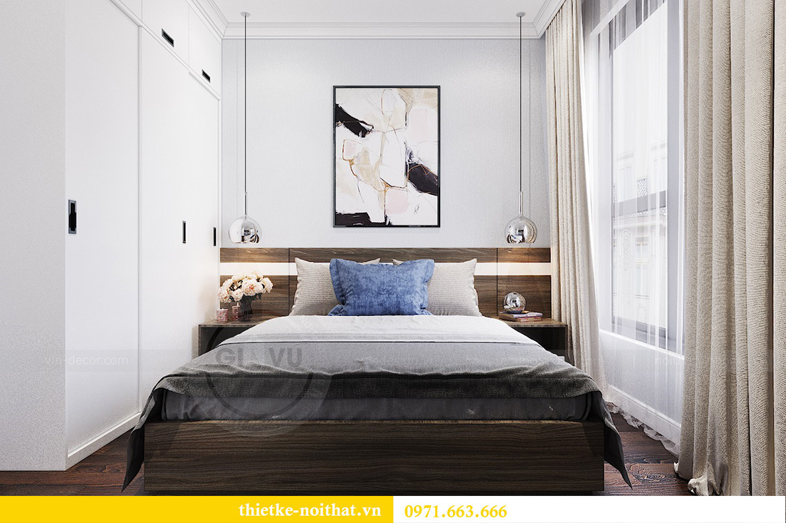 Thiết kế nội thất chung cư căn 3 ngủ tòa C1 08 Dcapitale nhà anh Thông 10