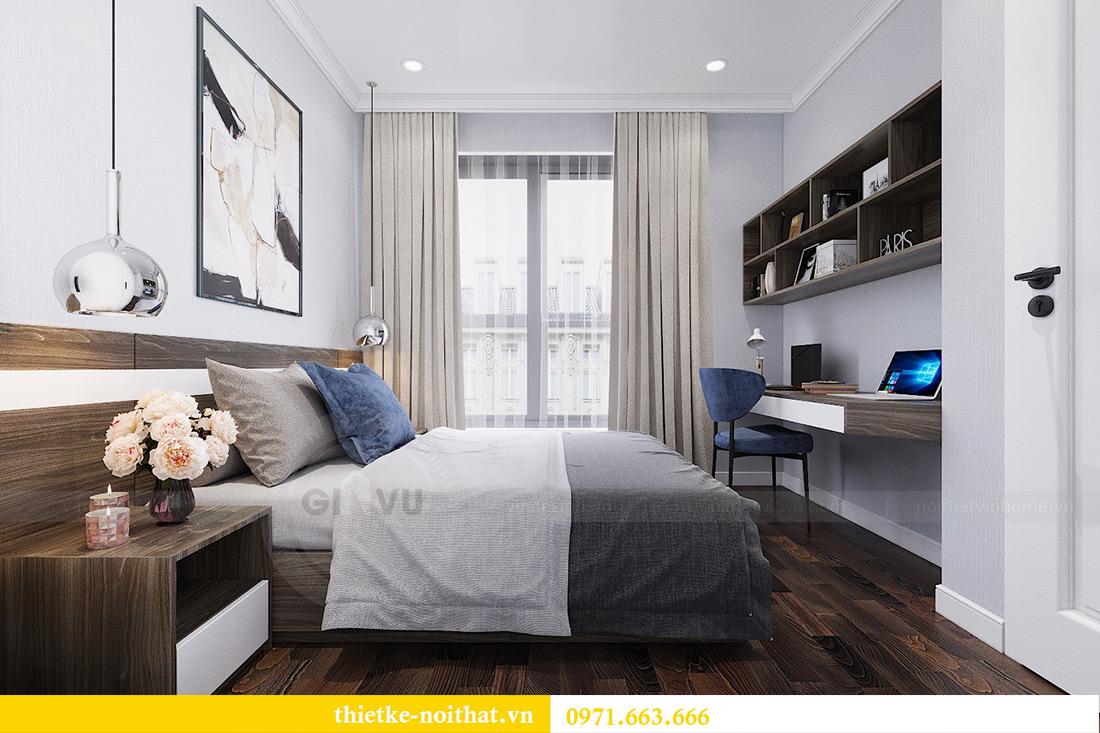 Thiết kế nội thất chung cư căn 3 ngủ tòa C1 08 Dcapitale nhà anh Thông 11